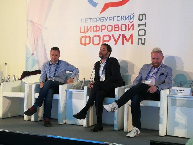 Алексей Пивоваров, Александр Цыпкин и Трофим Татренков
